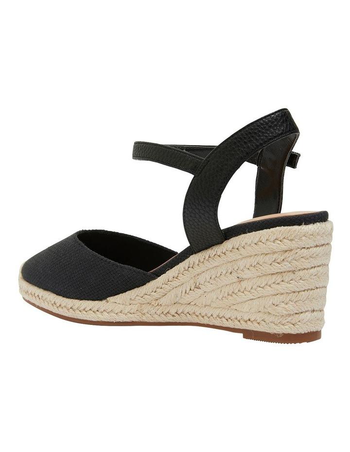 Santos Black Fabric Sandals image 5