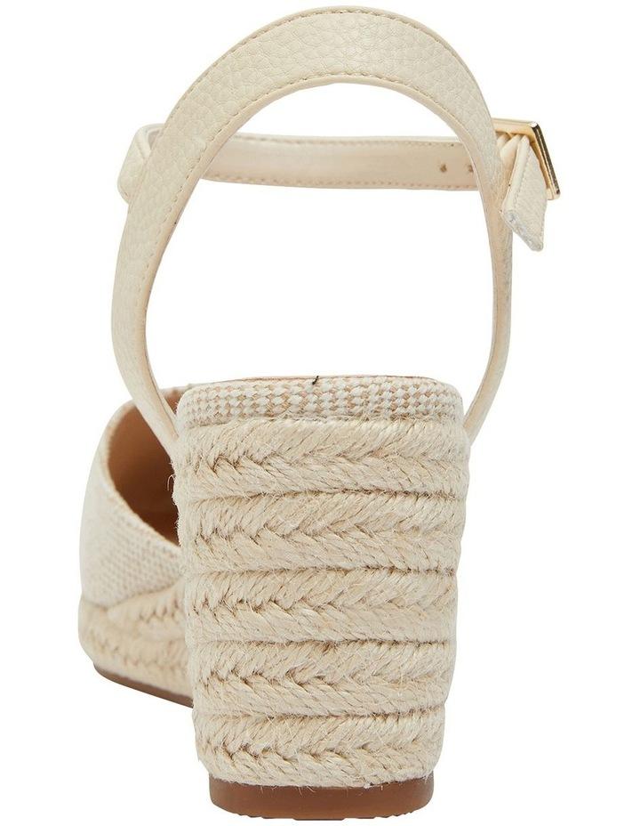 Santos Natural Fabric Sandals image 6