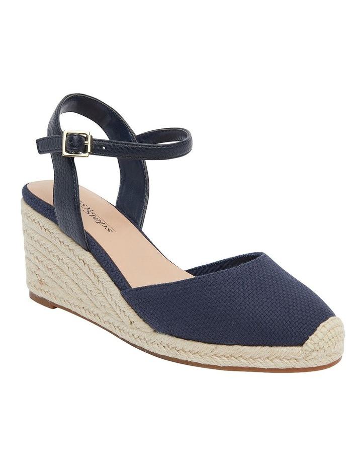 Santos Navy Fabric Sandals image 1