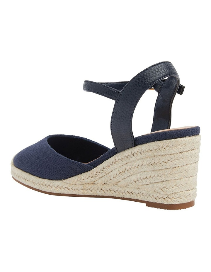 Santos Navy Fabric Sandals image 2