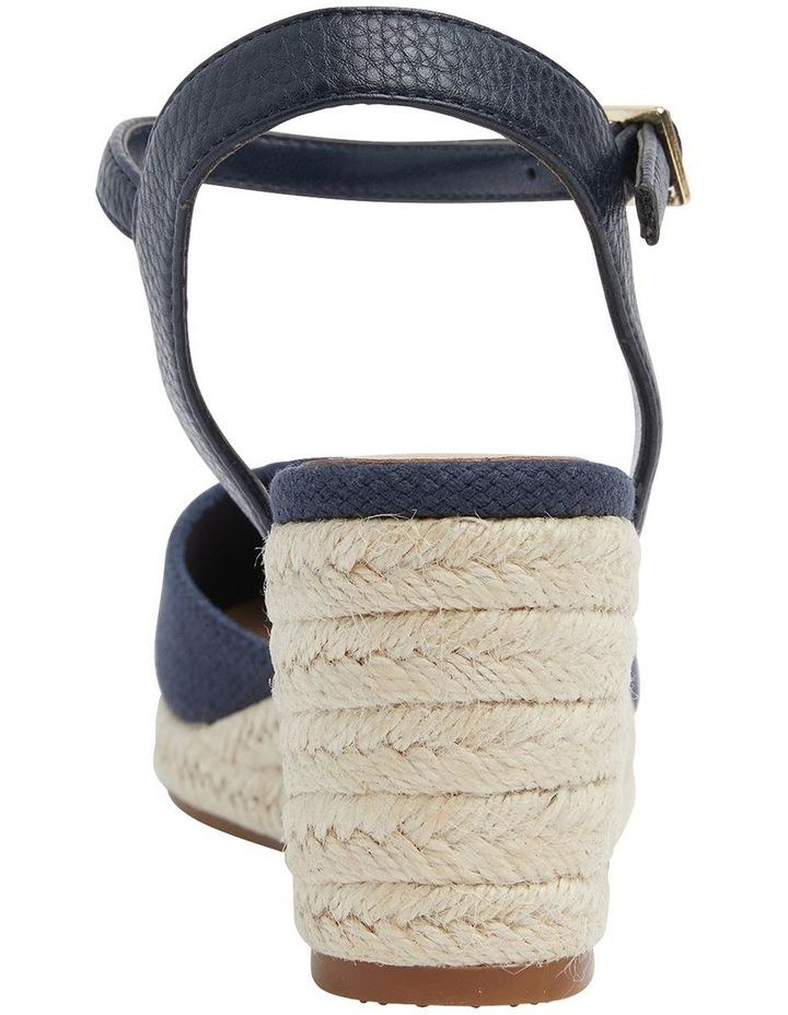 Santos Navy Fabric Sandals image 3