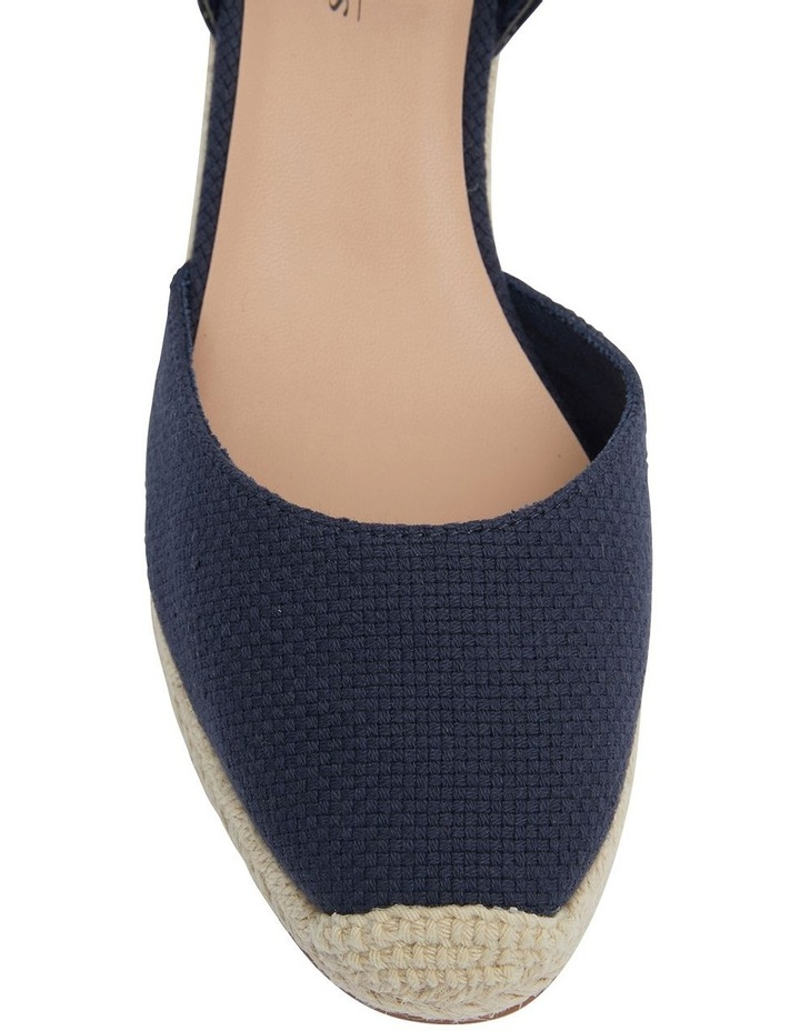 Santos Navy Fabric Sandals image 4