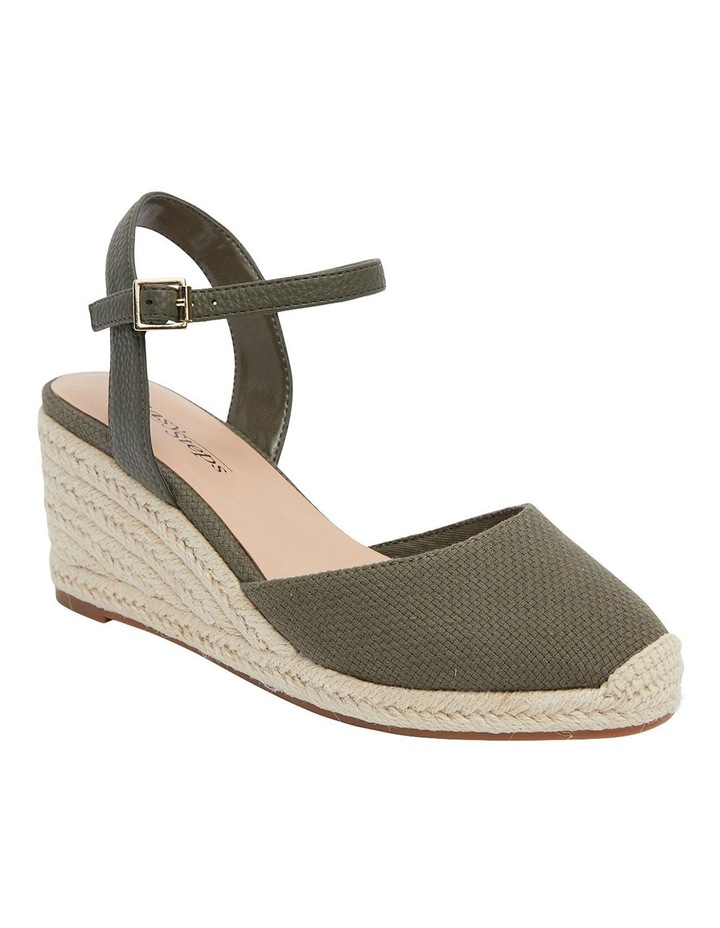 Santos Khaki Fabric Sandals image 2