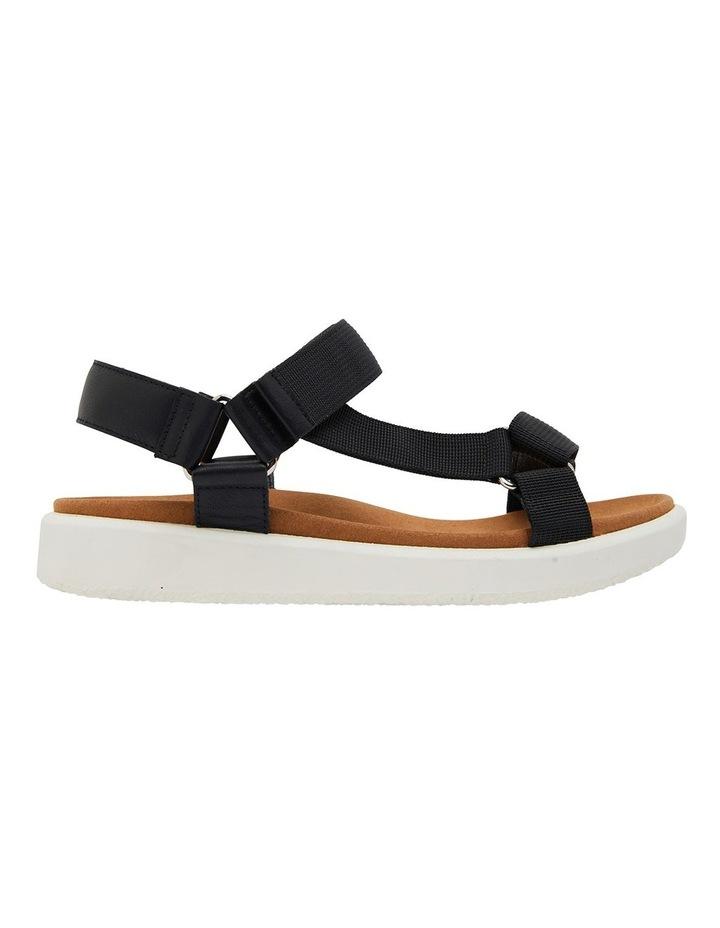 Farrow Black Fabric Sandals image 1