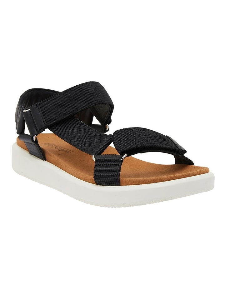 Farrow Black Fabric Sandals image 2