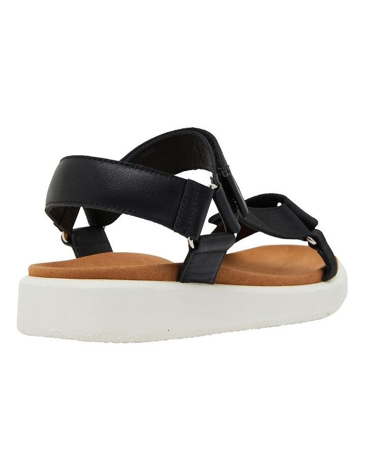 Farrow Black Fabric Sandals image 4