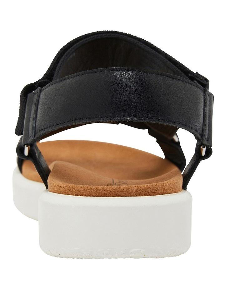 Farrow Black Fabric Sandals image 5