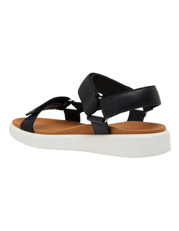 Farrow Black Fabric Sandals image 6