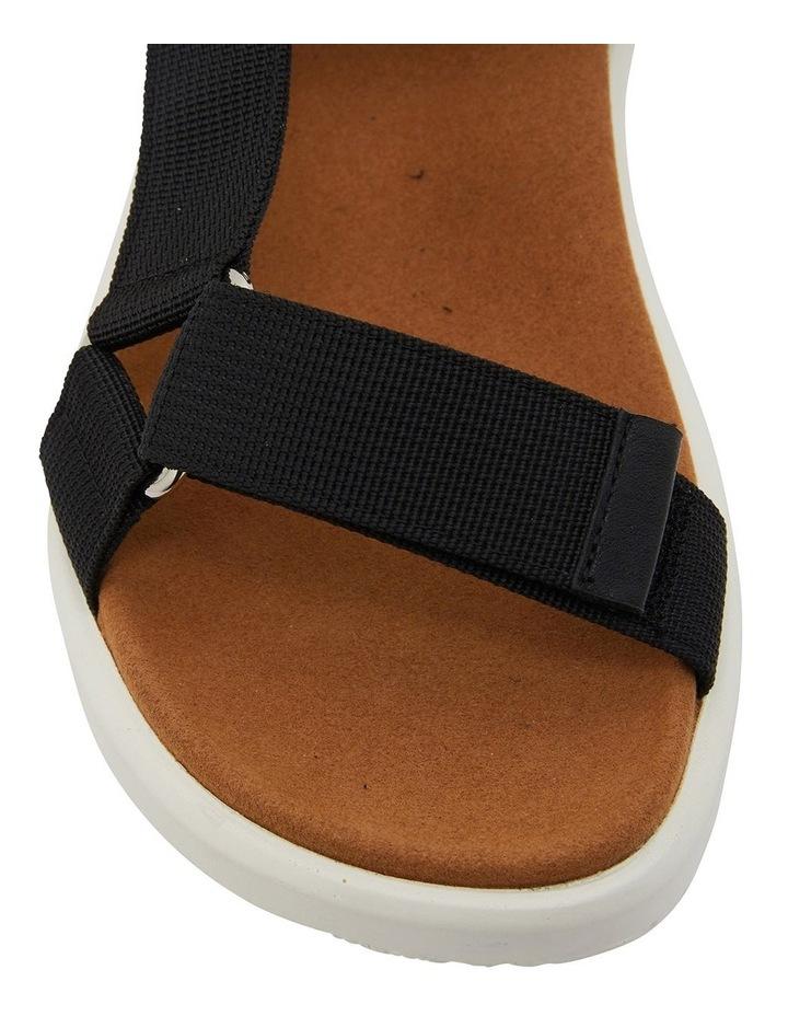 Farrow Black Fabric Sandals image 7