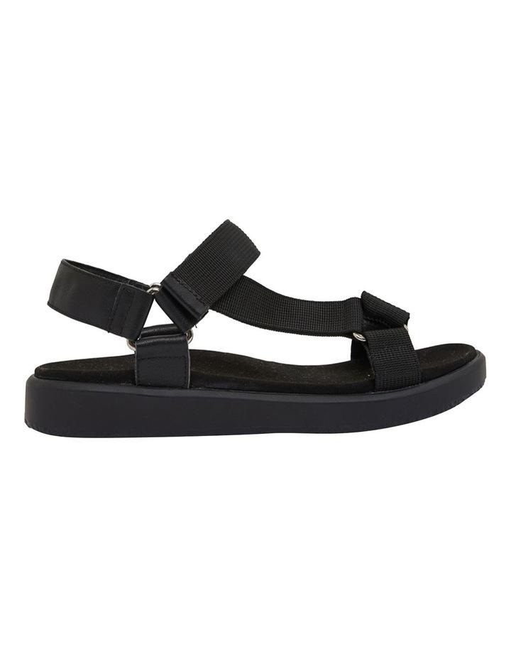 Farrow Black/Black Fabric Sandals image 1