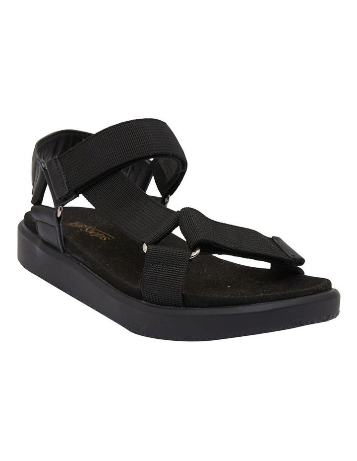 Farrow Black/Black Fabric Sandals image 2
