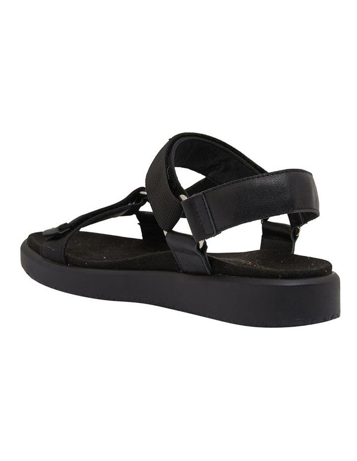 Farrow Black/Black Fabric Sandals image 5