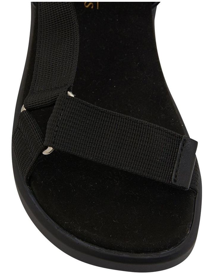 Farrow Black/Black Fabric Sandals image 6