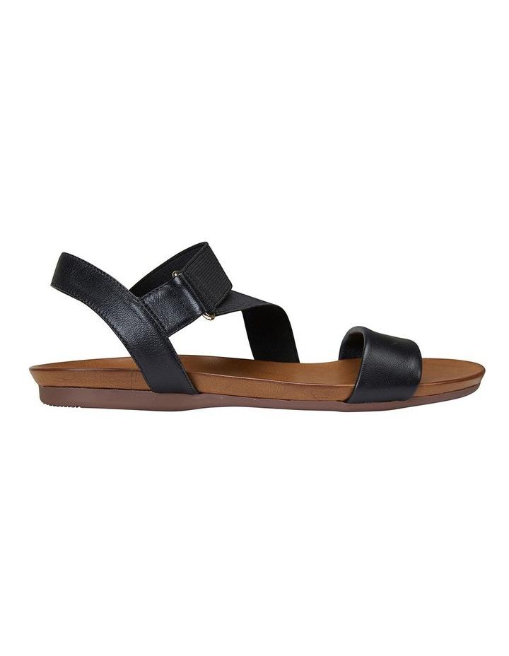 Amity Black Glove/Elastic Sandals image 1