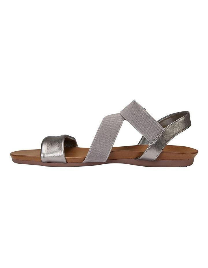 Amity Pewter Metallic/Elastic Sandals image 2