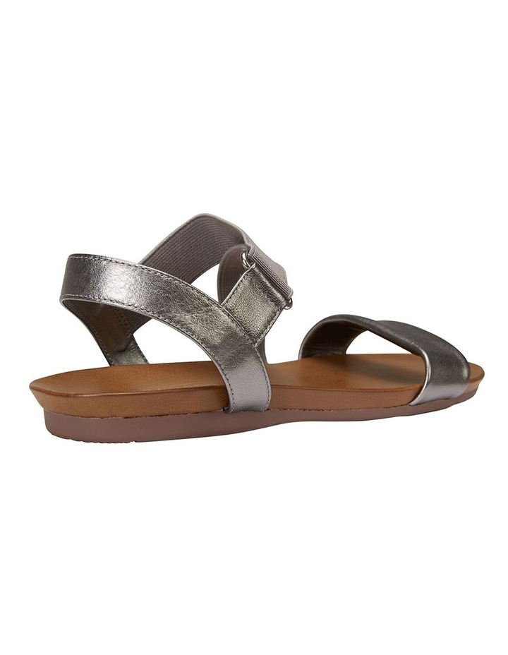 Amity Pewter Metallic/Elastic Sandals image 3