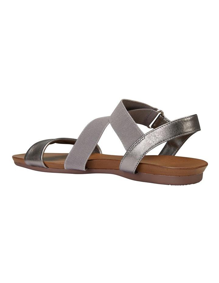 Amity Pewter Metallic/Elastic Sandals image 4
