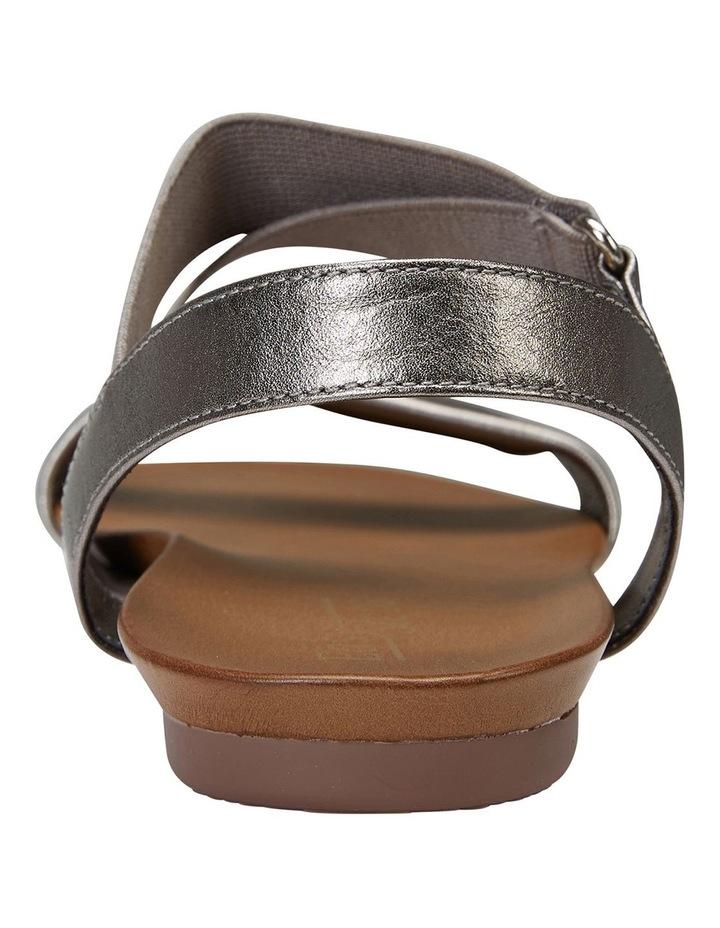 Amity Pewter Metallic/Elastic Sandals image 5