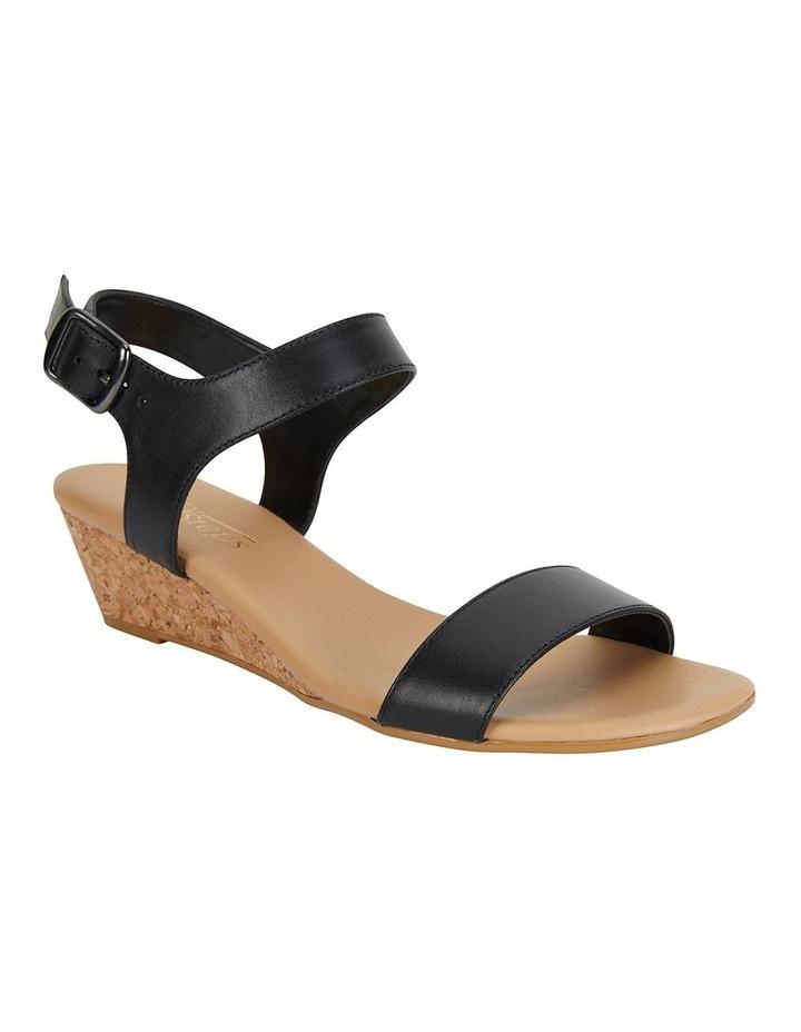 Cable Black Glove Sandals image 2