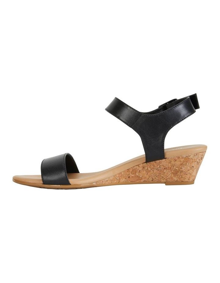 Cable Black Glove Sandals image 3