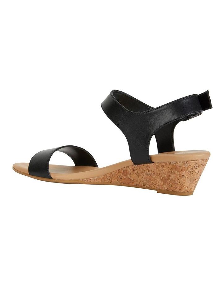 Cable Black Glove Sandals image 5