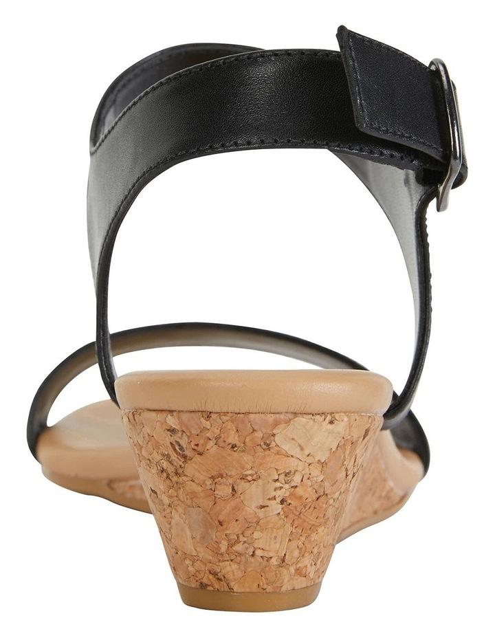 Cable Black Glove Sandals image 6