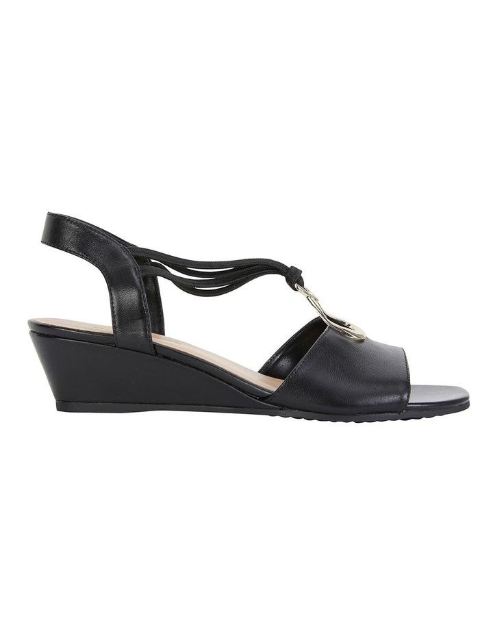 Carey Black Glove Sandals image 1