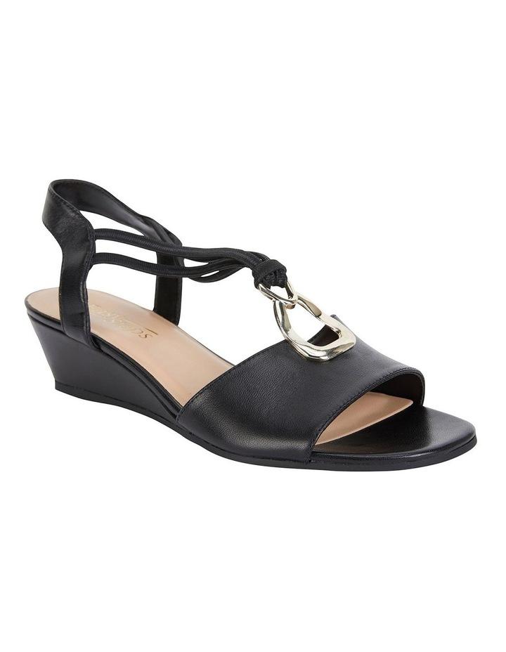Carey Black Glove Sandals image 2