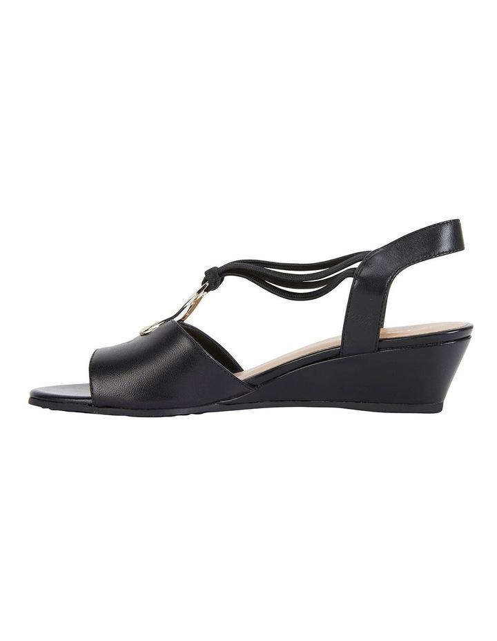 Carey Black Glove Sandals image 3
