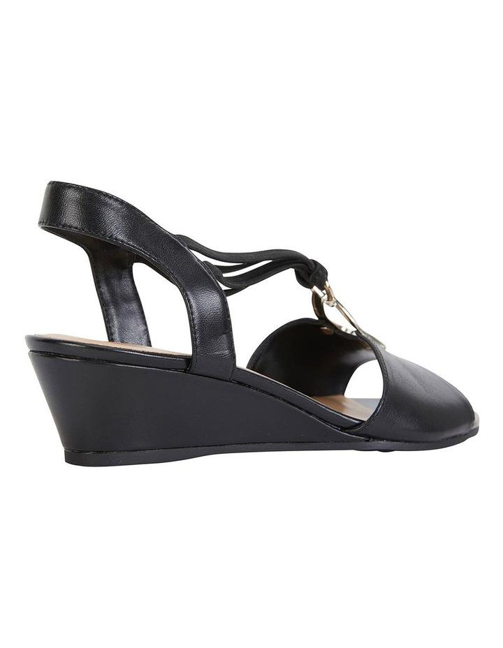 Carey Black Glove Sandals image 4