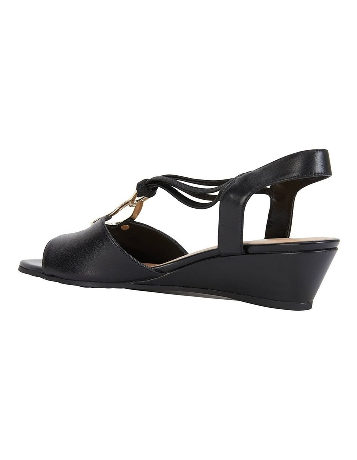 Carey Black Glove Sandals image 5