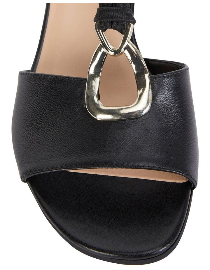 Carey Black Glove Sandals image 7