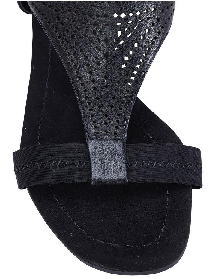 Casino Black Glove Sandals image 6