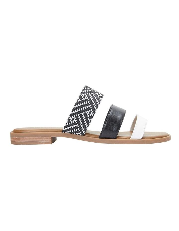 Egypt Black Multi Sandals image 1