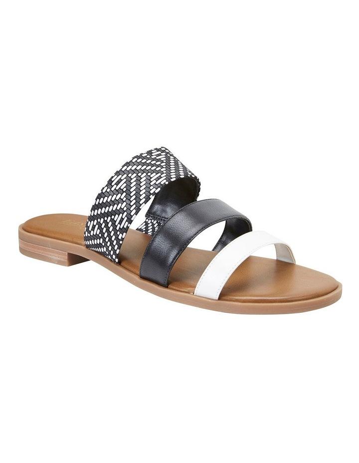 Egypt Black Multi Sandals image 2