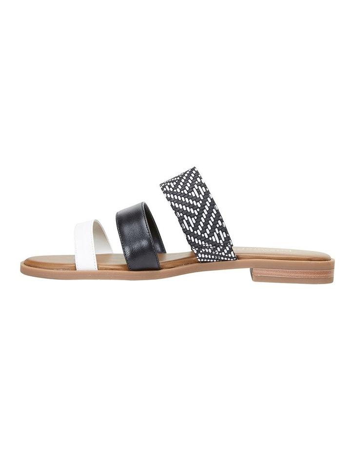 Egypt Black Multi Sandals image 3