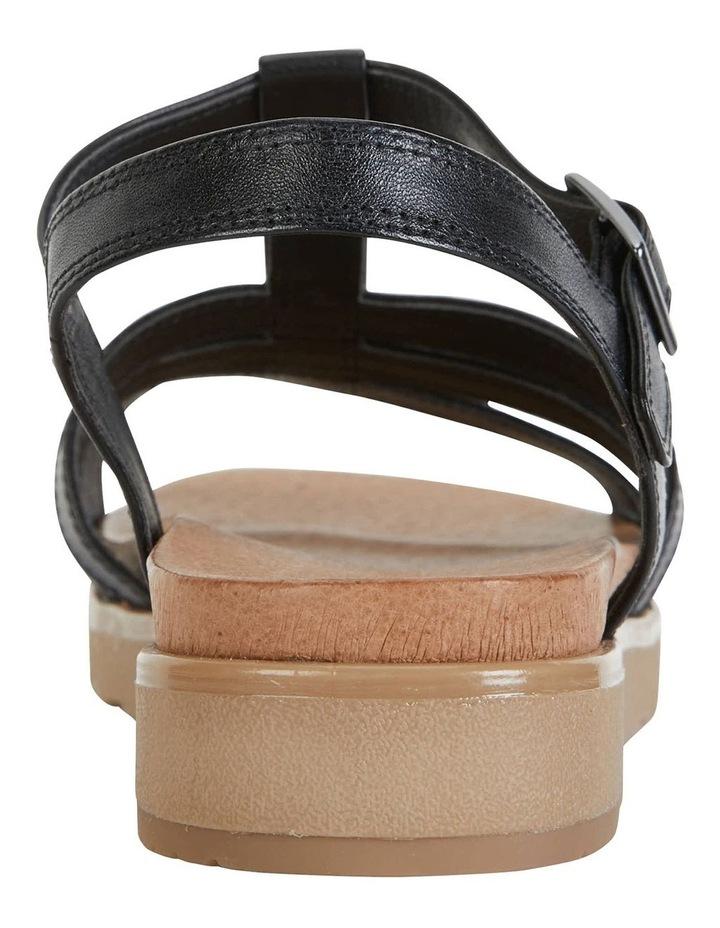 Ohio Black Glove Sandals image 5