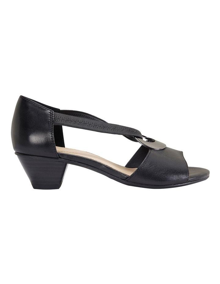 Praise Black Glove Sandals image 1