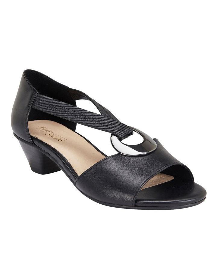 Praise Black Glove Sandals image 2