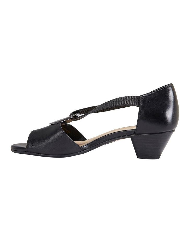 Praise Black Glove Sandals image 3