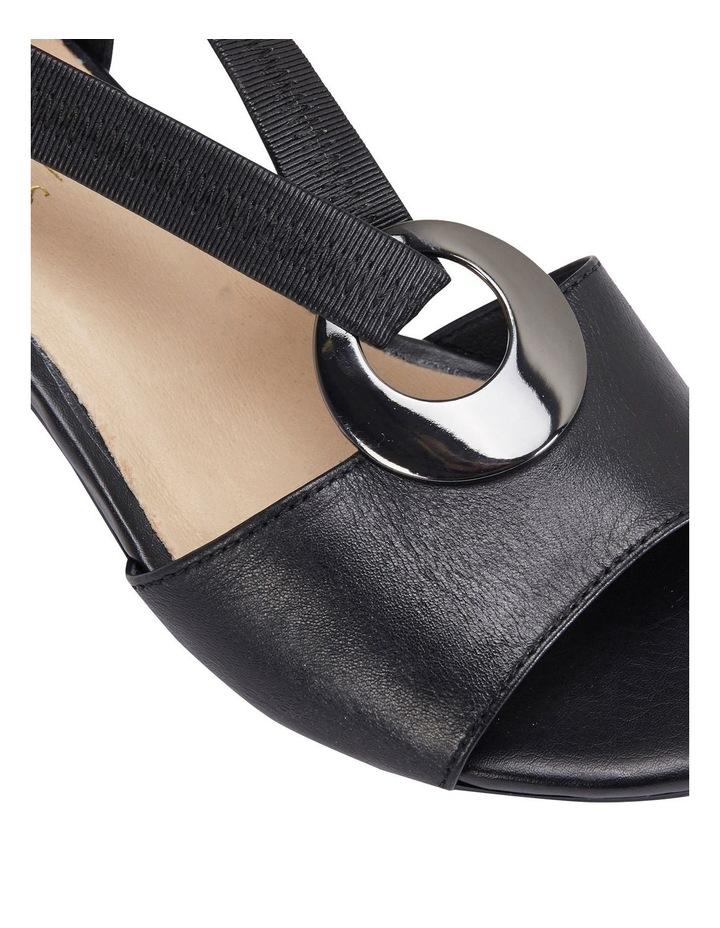 Praise Black Glove Sandals image 7