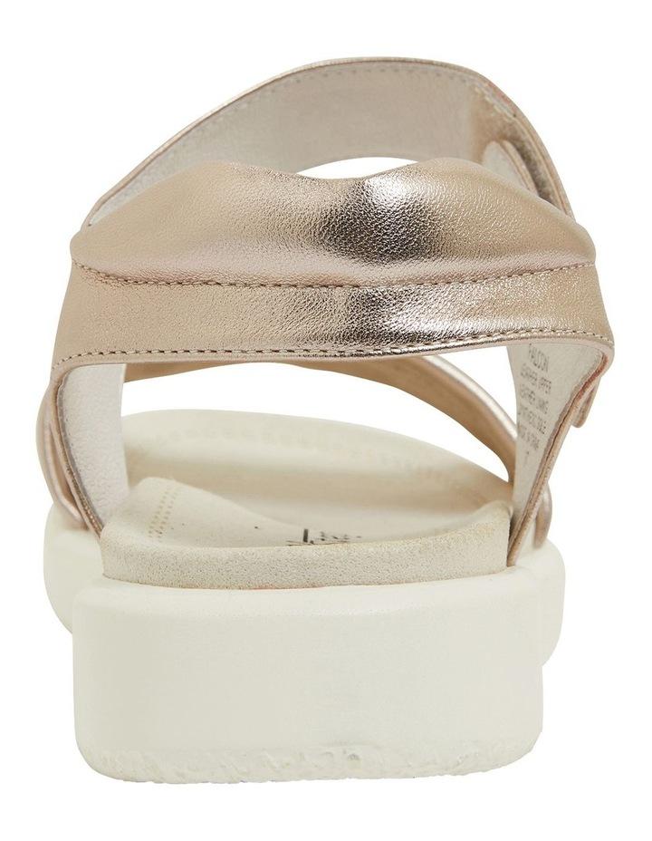 Falcon Soft Gold Sandals image 5
