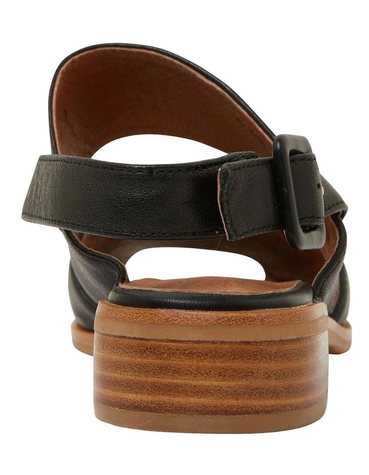 Drew Black Glove Sandals image 5