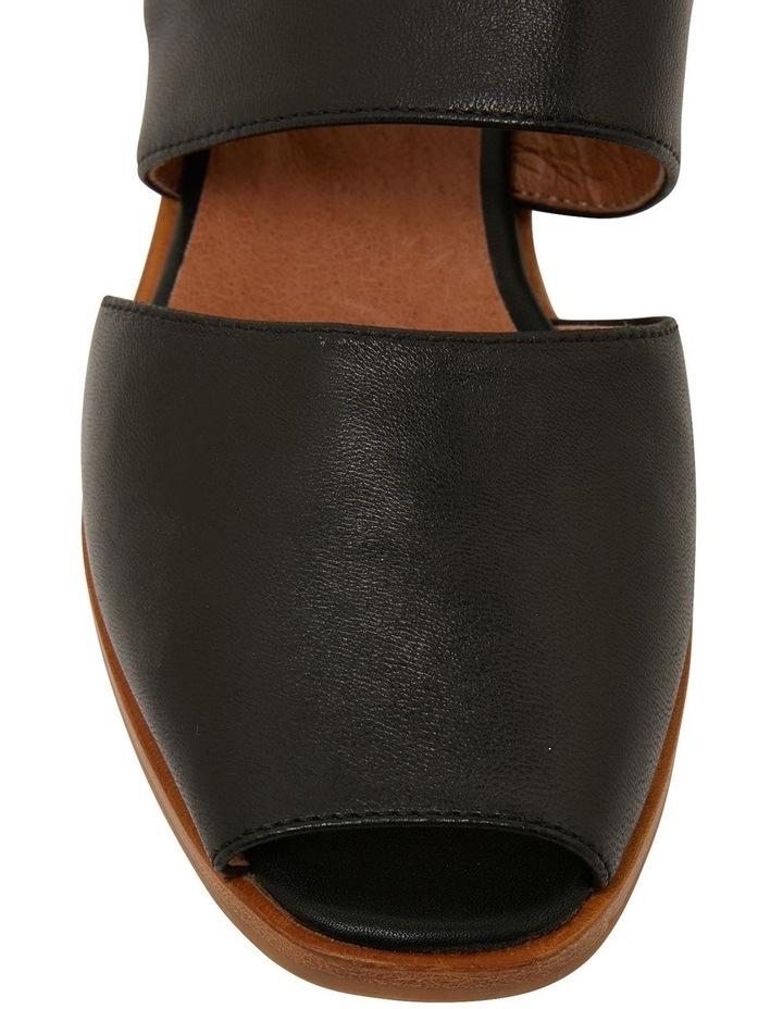 Drew Black Glove Sandals image 6