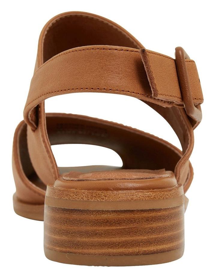 Drew Tan Glove Sandals image 5