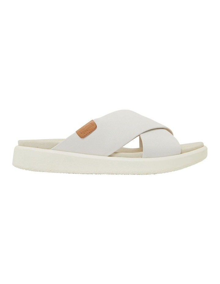 Ferry White Gold Sandals image 1