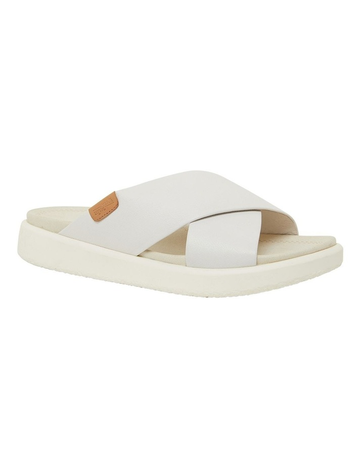 Ferry White Gold Sandals image 2