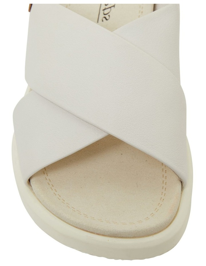 Ferry White Gold Sandals image 5