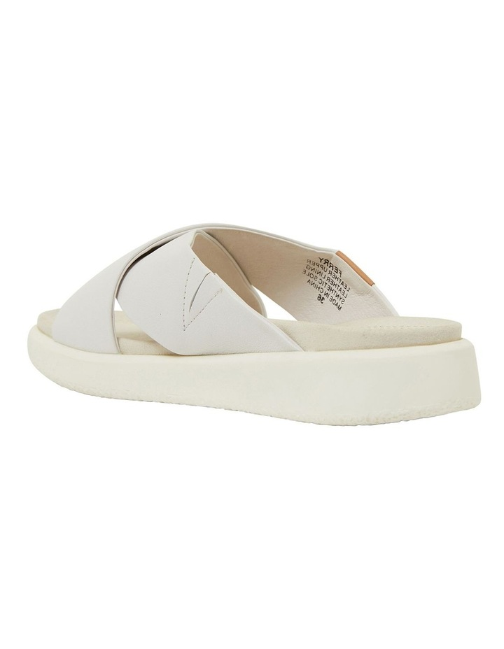 Ferry White Gold Sandals image 6