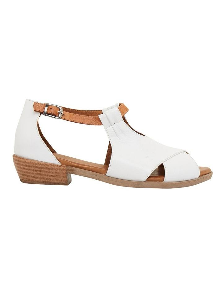 Laguna White/Cognac Glove Sandals image 1